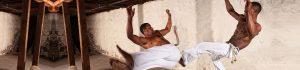 black men playing capoita