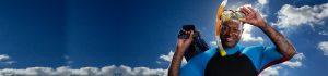 blog header scuba snorkel black man