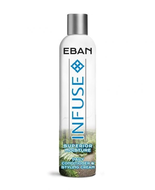 The best daily conditioner for Black hair. EBAN Infuse - Daily Conditioner & Styling Cream is great as a daily moisturizer and conditioner. Use it for all hair types and textures.