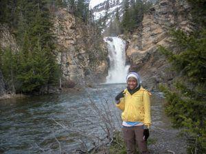 Christina Ogunsuyi: Location- Glacier National Park, Montana