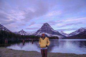 Christina Ogunsuyi: Location- Glacier National Park, Montana2
