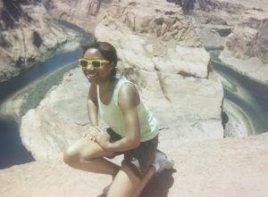 Christina Ogunsuyi: Location- Horseshoe Bend, Arizona