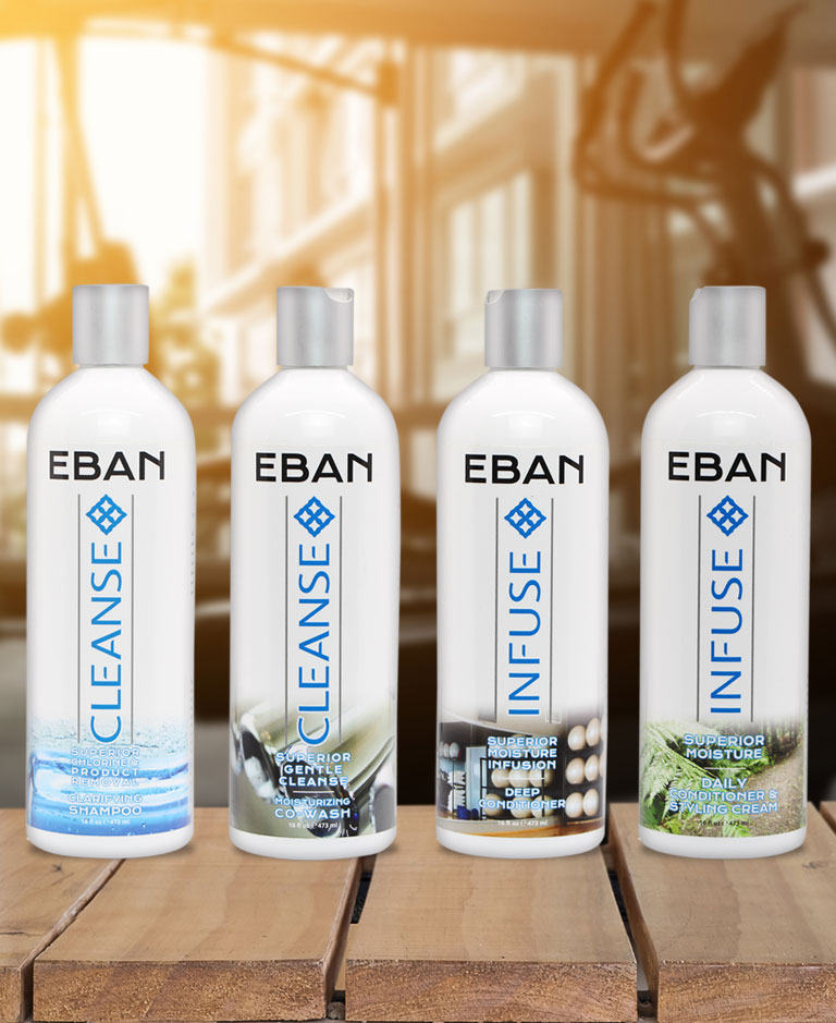 Eban Complete Hair Care System For Natural Hair