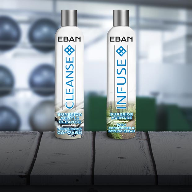 EBAN Cleanse & Infuse Quick Clean Duo