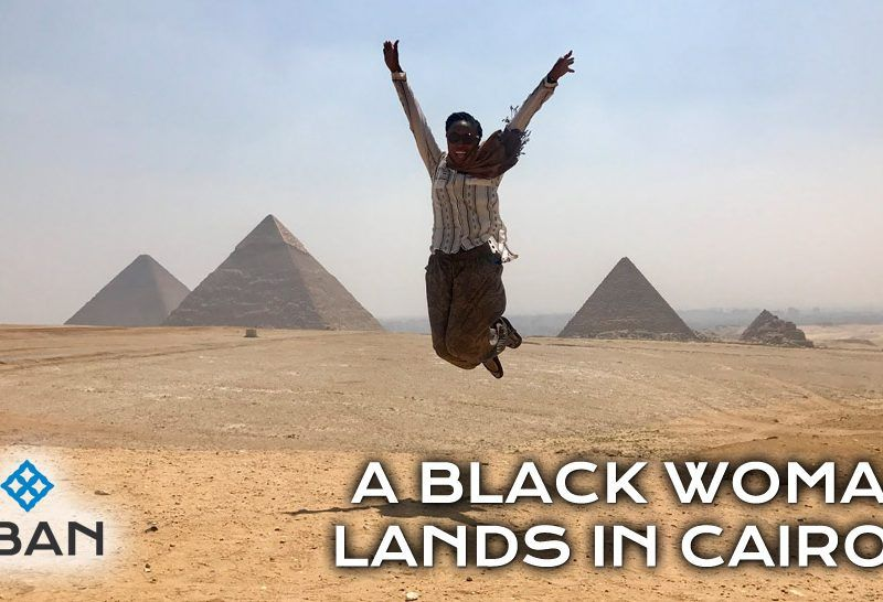 a black woman lands in cairo