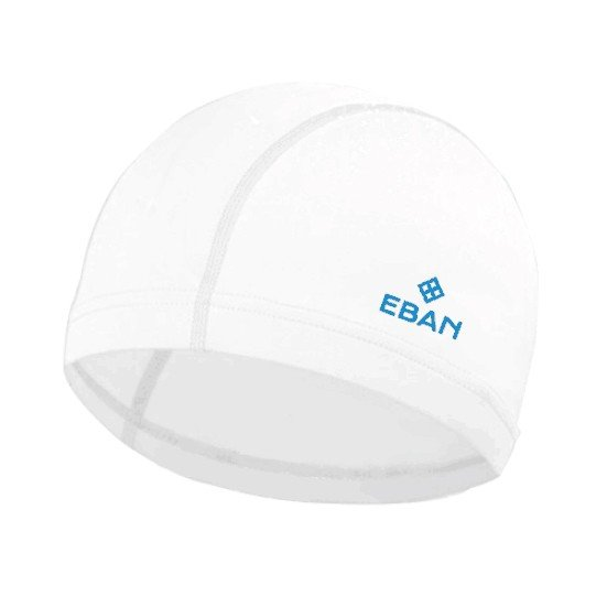 EBAN white lycra hair cap