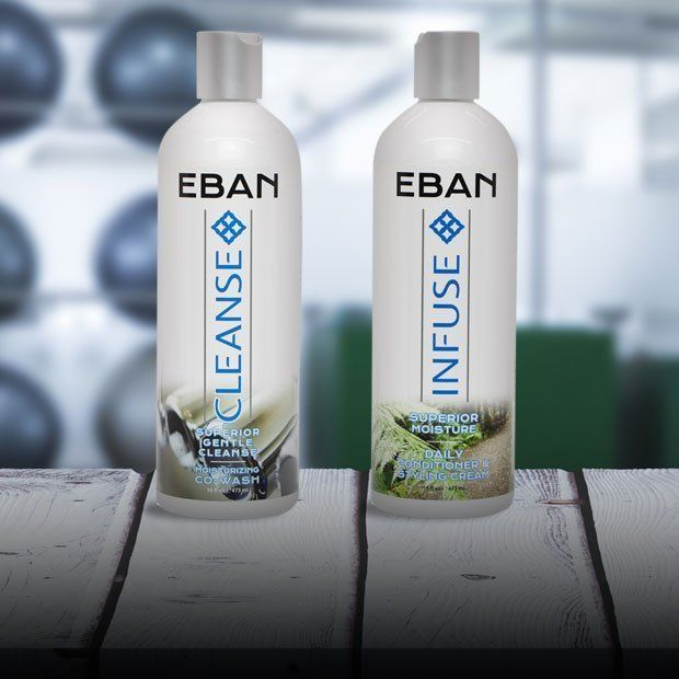 EBAN Quick Clean Duo System - Co Wash and Conditioner for Natural Hair