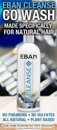 EBAN CLEANSE CLARIFYING SHAMPOO - No Parabens • No Sulfates • All Natural •plant Based