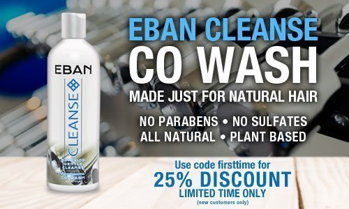 EBAN Cleanse Co Wash made for Natural Hair